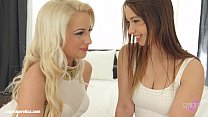 Lesbian scene with Taylor Sands and Anastasia Blond by Sapphic Erotica