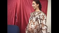 Dude realizes his Pregnant Fantasies with playful latin darkhaired seniorita with small tits and juicy round ass Dulce