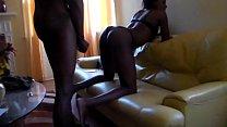 Ebony taking dick