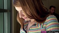 8205 TEENFIDELITY Nerdy Teen Lena Anderson Stretched By Thick Cock preview