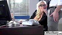 (julie cash) Big Round Tits Girl Enjoy Sex In Office clip-25