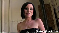 Veruca James Anal Fucked and Double Penetrated by Black Cocks thumbnail