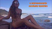 """11568 Video do nosso canal no YouTube """"Kellenzinha Sem Segredos"""" - O que rola na Praia de nudismo? preview"""