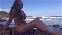 """Video do nosso canal no YouTube """"Kellenzinha Sem Segredos"""" - O que rola na Praia de nudismo? صورة"""