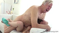 Old Goes Young - Luna Rival gets fucked while s...