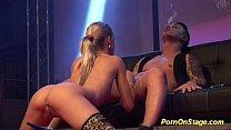 Pornographic sugar gets pumped live thumbnail