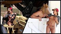 BANGBROS - Farmer's Asian Daughter Morgan Lee Shows Off Her Horses