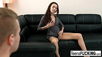 Hot brunette Jessica Malone returns for anal pleasure