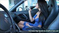Ariane II porn solo sex fingering car