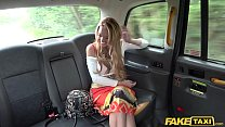 Fake Taxi Sex addict Stacey Saran fucks in taxi preview image