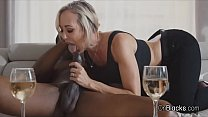 Bigtit MILF blows neighbours big black cock