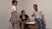 The teacher and brat students