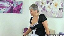 British granny Savana will serve all your needs