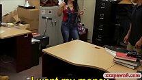 Hot latin chick screwed at the pawnshop thumbnail