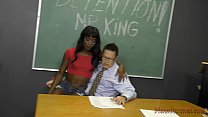 16327 Black Student Seduces Her Teacher Into Becoming Her Slave- Ana Foxxx Femdom preview