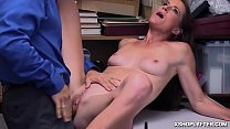 Hot milf moans hard as she gets pounded by the ...