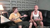 Two cute gay guys suck hard cock gays