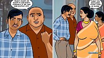 Velamma Episode 68 - Railway Coupling – Running a Train on Velamma preview image