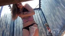 beach  cabin voyeur » okij com thumbnail
