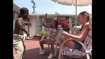 Black Misfet Fuck Two Teen Girls