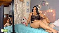 Hot colombian cam slut anal show