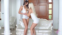 Straight To The Point - lesbian scene with Blanche Bradburry and Carla Cruz by S