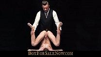 Slave boy sucked and milked by master daddy-BOYFORSALENOW.COM