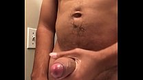 Playing with my big dick