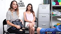 Slender MILF mom got banged because her teen is a thief - 69VClub.Com