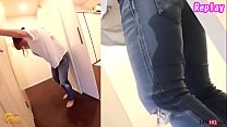 Japanese Pee Desperation and Jeans Wetting