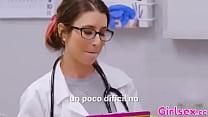 Doctora lesbiana quiere un examen de mi coño más profundo