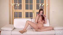 mom hot sex ⁃ The Stunning Stella Cox DP's herself in Super sexy Interview thumbnail