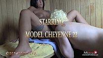 Cheyenne treibt heisse Spermaspiele in der Sauna preview image