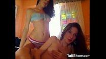 Pretty Amateur Lesbians Teasing