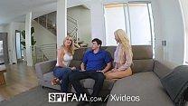 SpyFam Step mother Brandi Love gives step daughter Elsa Jean sex advice Image
