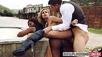 XXX Porn video - Rawhide Scene 5 (Jasmine Webb, Jessa Rhodes, Juan Lucho) preview image
