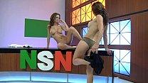Emily Addison & Heather Vandeven - Naked News Vorschaubild