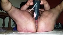Studio66 evelyn - fat chick from BBWCurvy .com rides dildo thumbnail