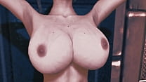 The Growth Chamber- Annies 3d World, 3d growing boobs and butts