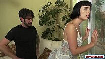 Olivia banged by her horny bf
