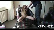 Obedient tit punishment porn scenes