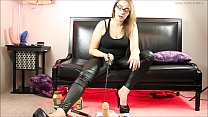 Sadistic CBT- Hot Sauce Lube and Castration