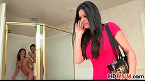 Hope Howell invites her Mom India Summer to fuck BF pornhub video