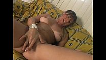 Fucked the ass of the milf clinging without a condom - Patricia Ventura