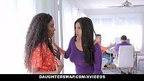DaughterSwap - Horny Latina Teens Having an Orgy
