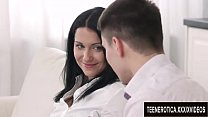 Black Haired Temptress Jessica Lincoln Takes a Fucking from Her Boyfriend