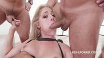 Monsters of TAP, Lisey Sweet gets 4on1 with Balls deep Anal & DAP, TAP, Dapes, Swallow GIO816