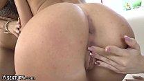 21Sextury Teen Lesbian Ass Licking, Butt Plug & Cunnilingus 3Way! thumbnail