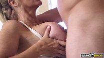 BANGBROS - Big Tits MILF Stepmom Julia Ann Fucks Step Son In Shower Image