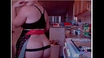 Blonde milf showing her body on webcam - gspotcam.com